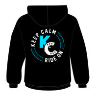Keep Calm Ride On Back Print Thumbnail